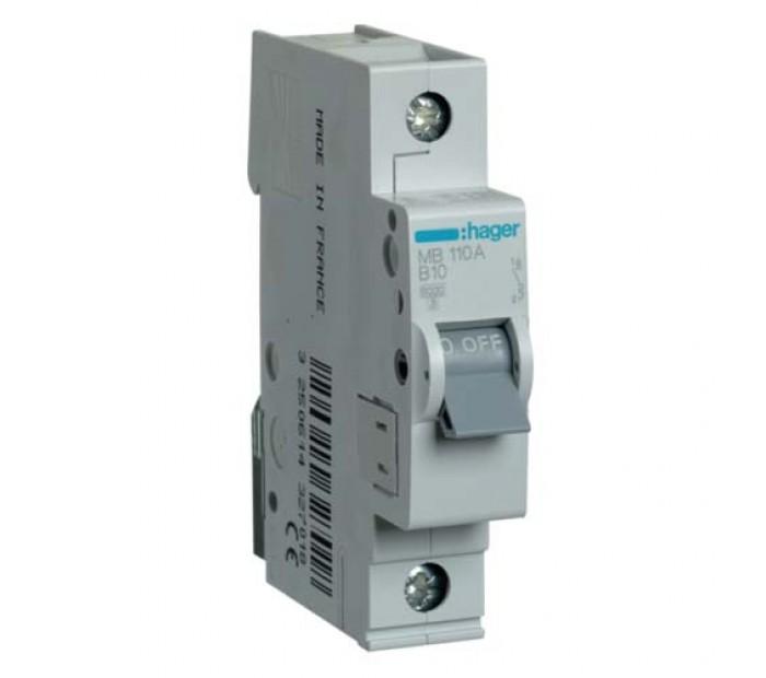 Hager automatski osigurač 10A-1P