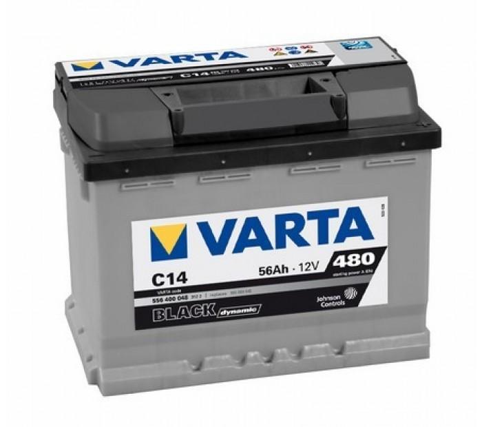Akumulator VARTA black 12V 56AH D+