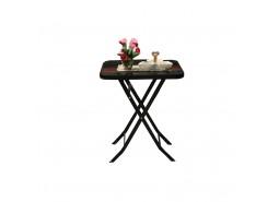 Stol stakleni 60x60 crni