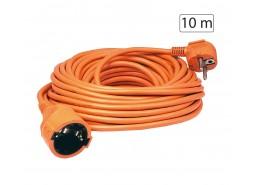 Produžni strujni kabel 1 utičnica, 10m, H05VV-F 3G, orange