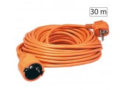 Produžni strujni kabel 1 utičnica, 30m, H05VV-F, orange