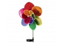 Solarna vrtna dekorativna svjetiljka, cvijet, 300 mAh