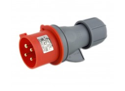 Utikač, 32A/380÷415, 4 Polni (3P+E), IP44