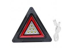 Trokut LED sa USB priključkom, multifunkcionalni *VELIKI*