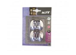 Vješalica samoljepljiva PVC 1,5x2 CM 6-1 MSV