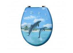 WC Daska uzorak delfini mdf