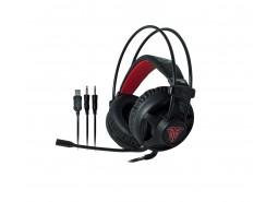 Slušalice sa mikrofonom, gaming, usb 3.5mm, led red
